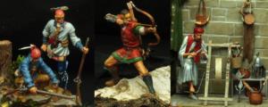 Modelle von Ulrich Biroth / Zwerg vom Nettenscheid