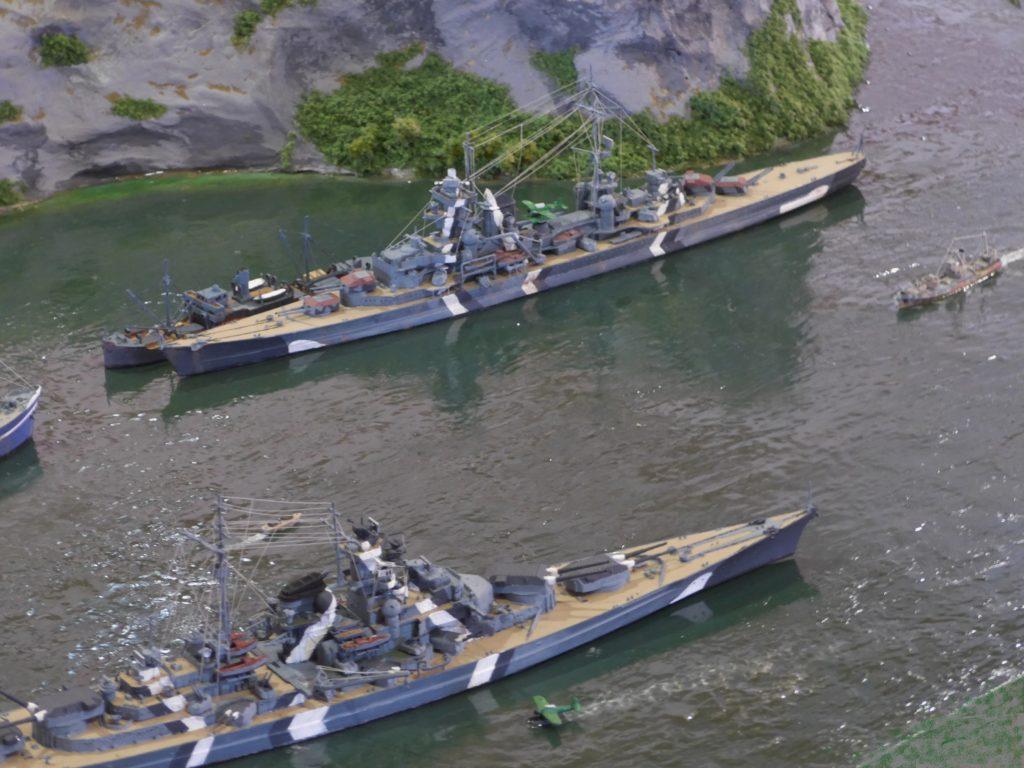 Bismarck u. Prinz Eugen / 1:700