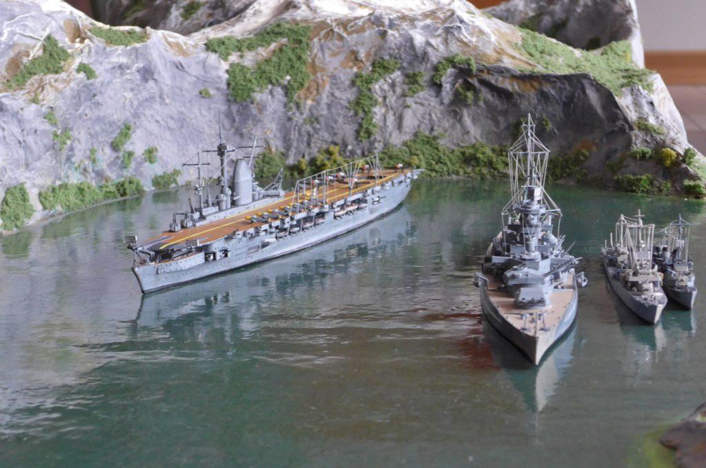 Graf Zeppelin, Scharnhorst, Z 26 u. T 35 / 1:700