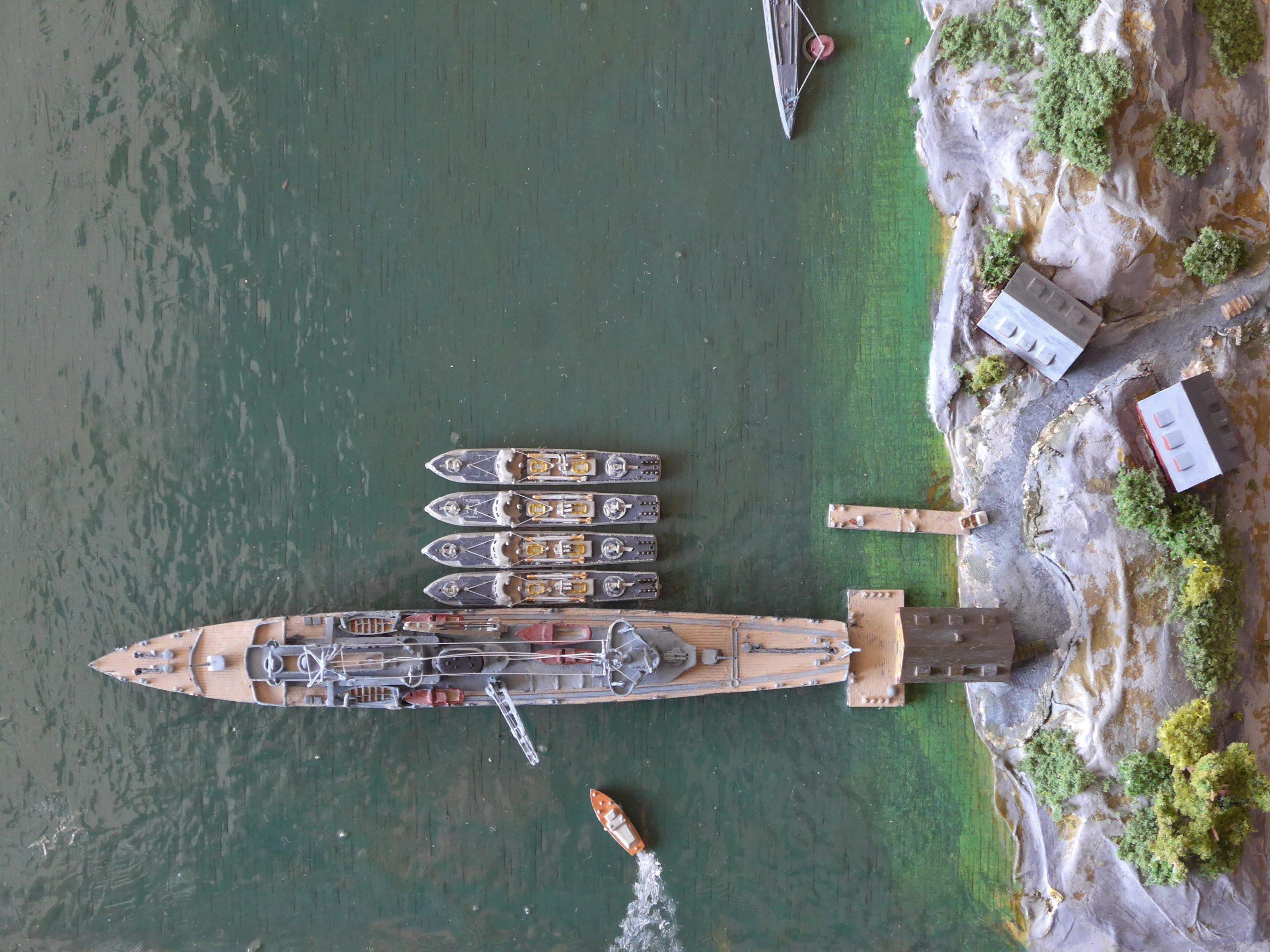 Luftaufnahme Adolf Lüderitz u. Schnellboote / 1:700