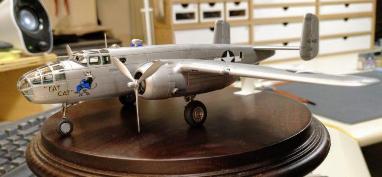 B-25B_1; Airfix; 1_72