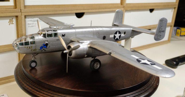 B-25B_2; Airfix; 1_72