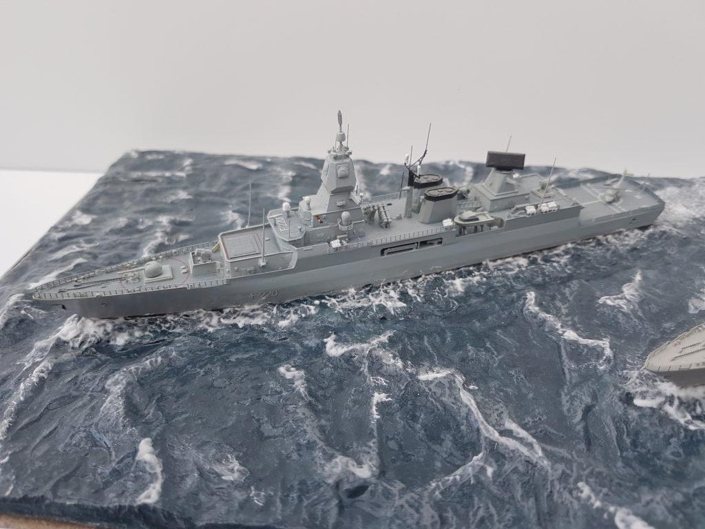 Thomas Langenbach / BM Fregatte Hamburg Klasse 214 / 1:700