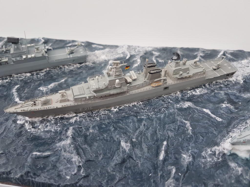 Thomas Langenbach / BM Fregatte Brandenburg Klasse 213 / 1:700
