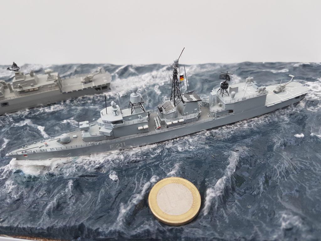 Thomas Langenbach / BM Fregatte Köln Klasse 212 / 1:700