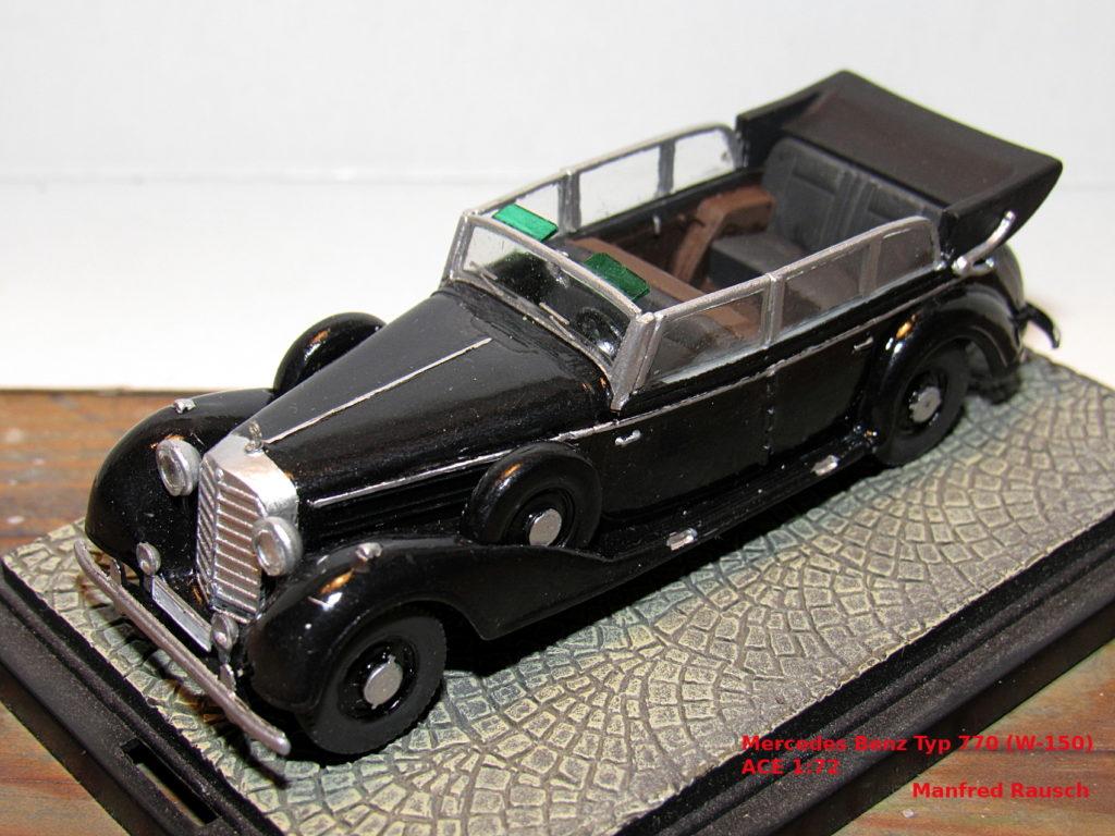 Manferd Rausch / Mercedes Benz Typ 770K / ACE / 1:72