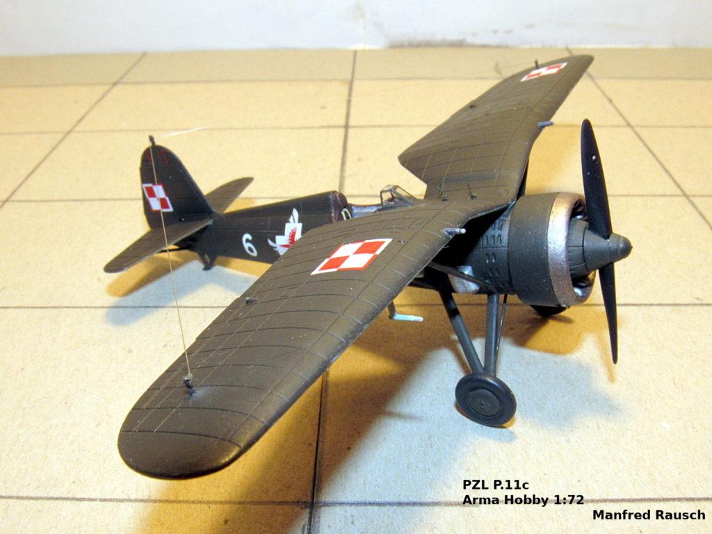 Manfred Rausch / PZL P.11c / Arma Hobby / 1:72