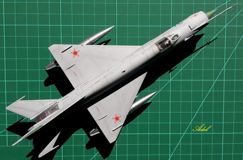Adel Makhlouf / MiG-21MF / 1:72