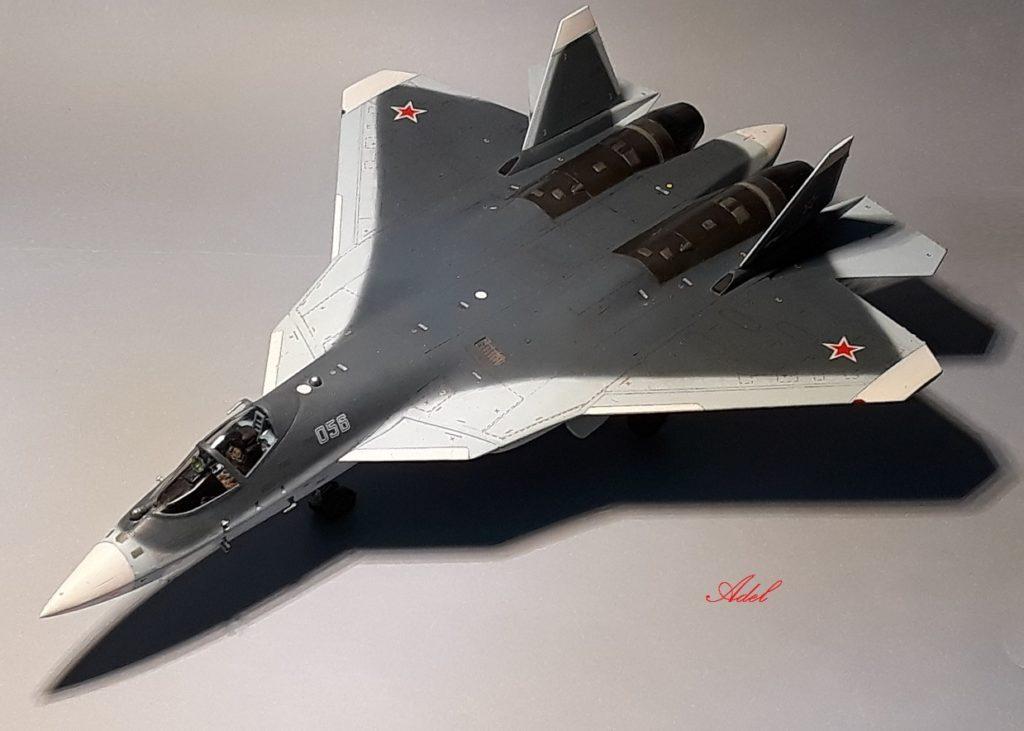 Adel Makhlouf / Su-57_T-50 / 1:72