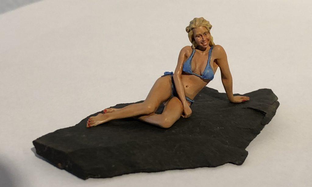 """Nils Hayn / Figur / """"Hot Stone"""" / 1:35"""