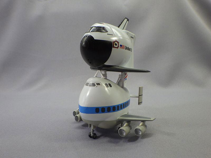 MBSTHH Ralf Reuter / 747 und Shuttle / Hasegawa / 1:Egg