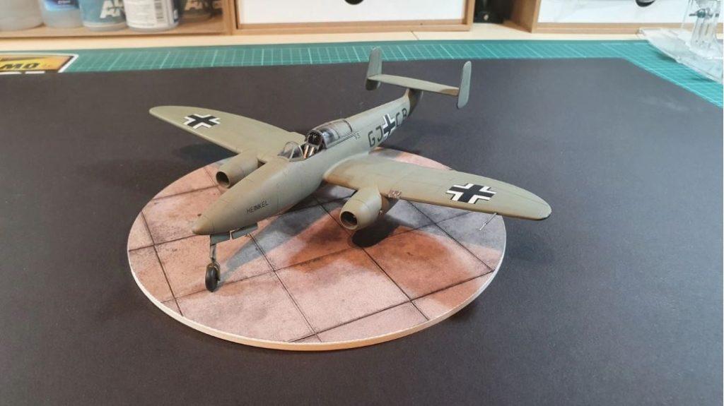 MBSTHH Sören Reifert / Heinkel He 280 / Eduard / 1:48