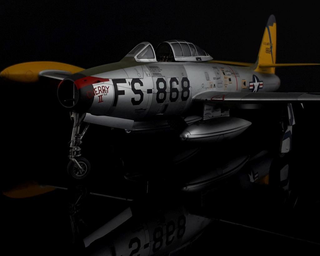 Steffen Recter MBF Siegen / F-84G Thunderjet / Tamiya / 1:48