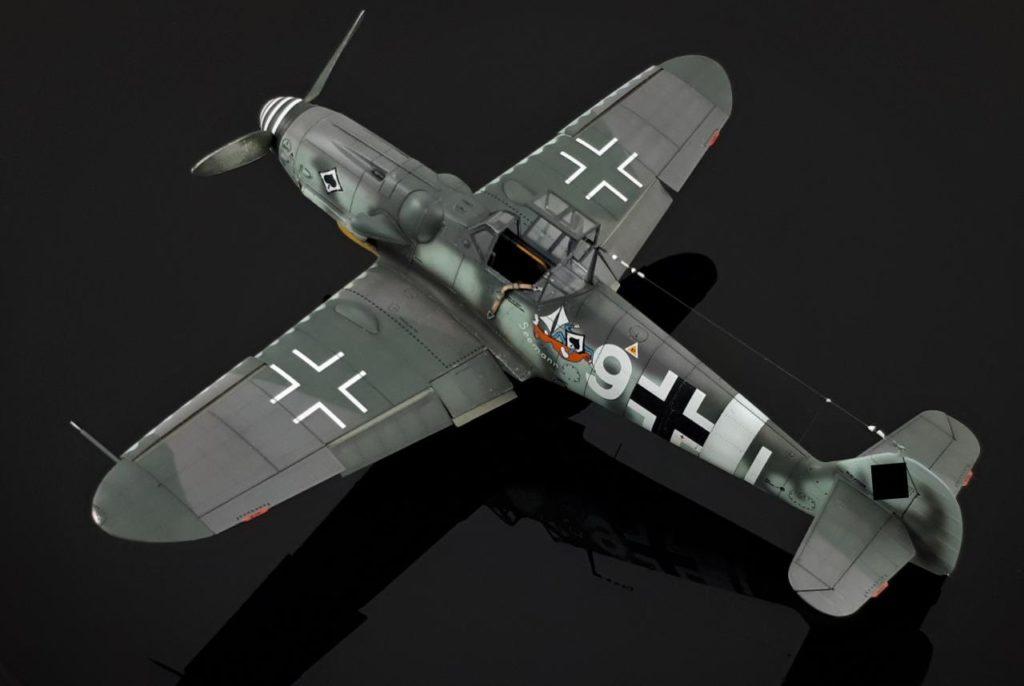 Steffen Recter MBF Siegen / Messerschmitt Bf 109 / Tamiya / 1:48