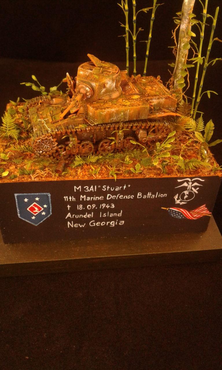 Bernd Muscheid / M3A1 Stuart / Mirage Hobby / :