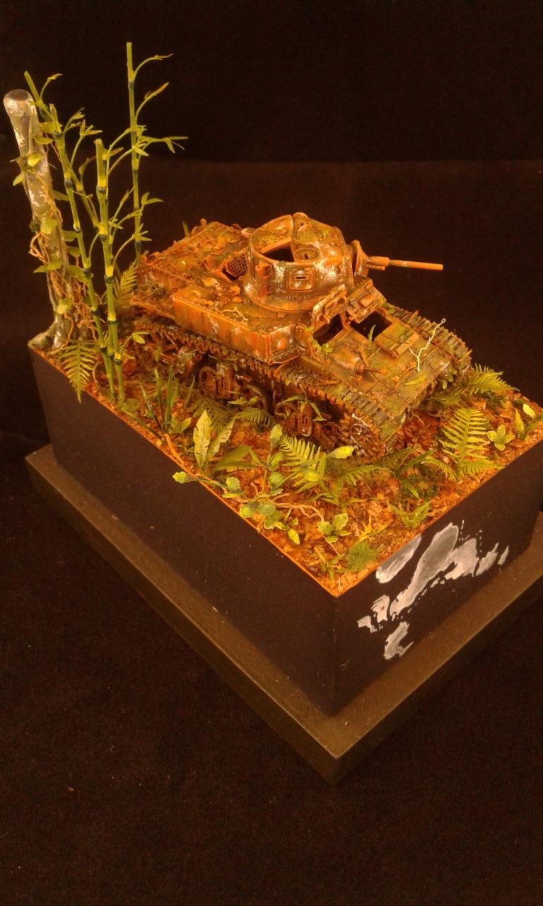 M3A1 Stuart / Mirage Hobby / 1:72