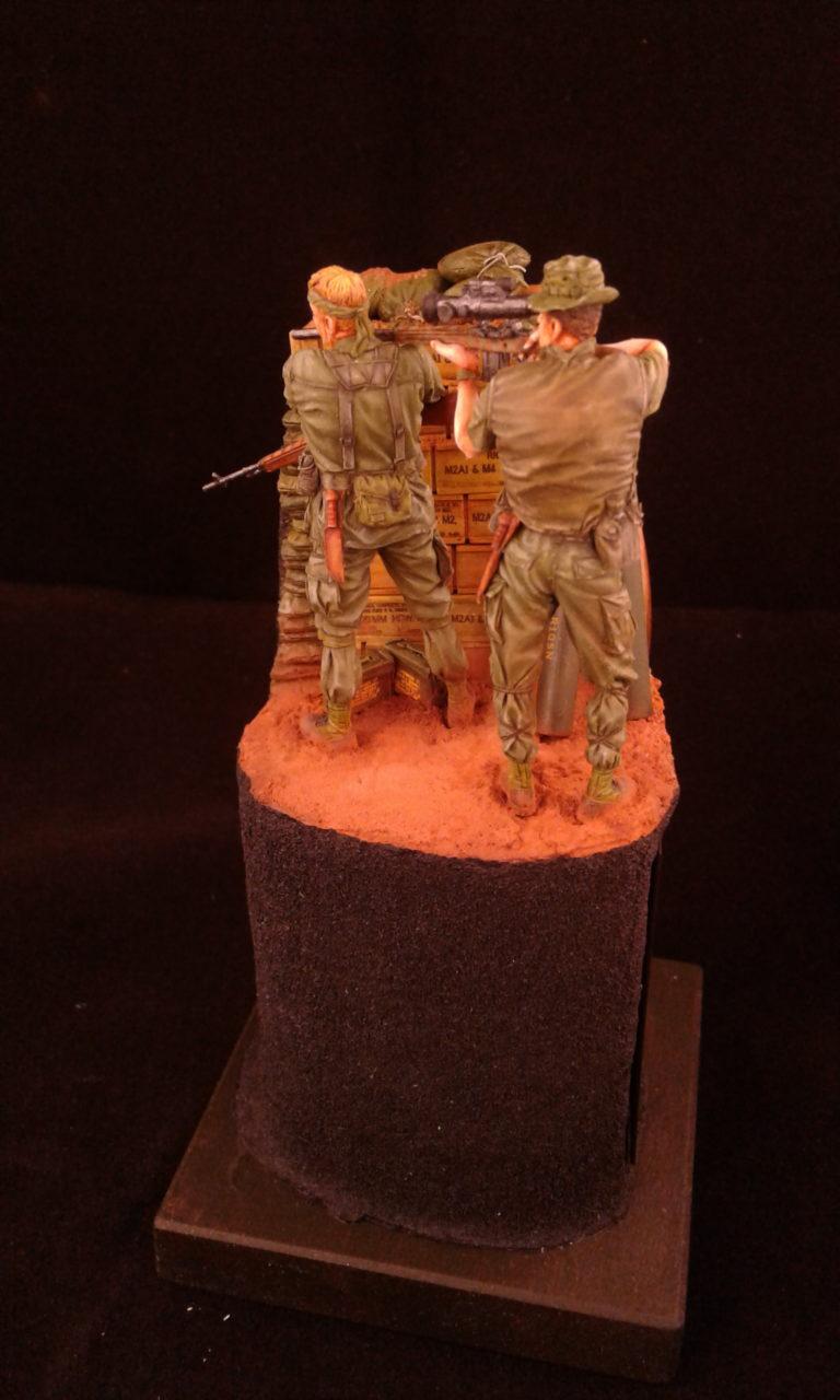 US-Army Sniper Team 1969 / Bravo 6 / 1:35