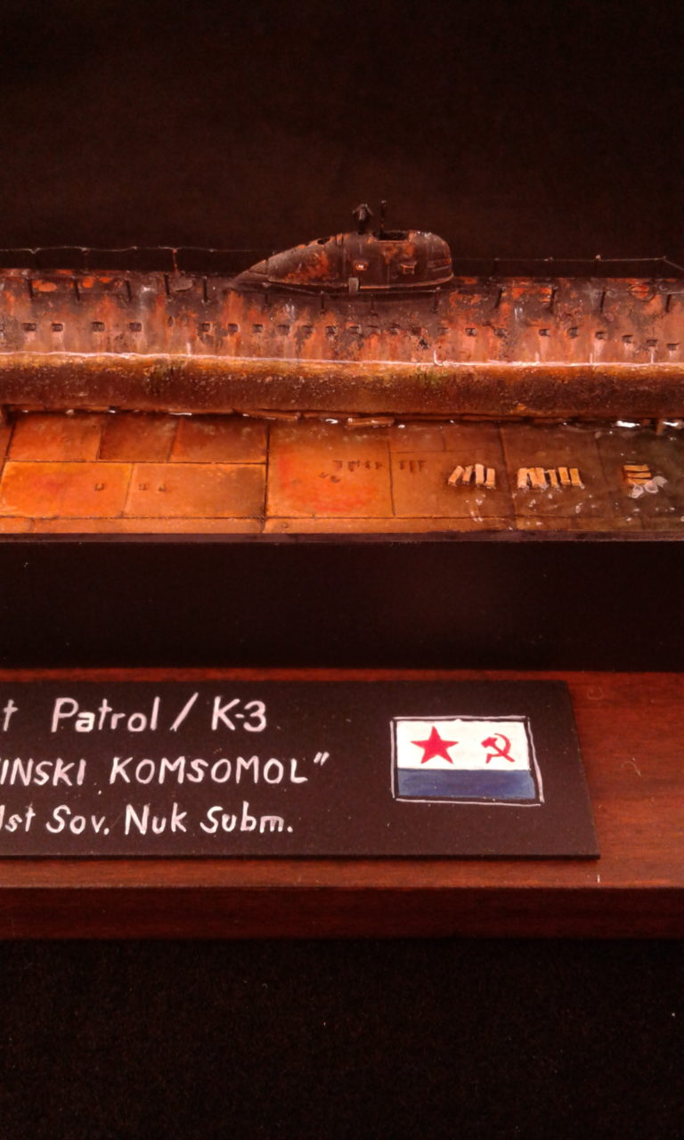 Leninski Komsomol K-3 / OKB Grigorov / 1:700