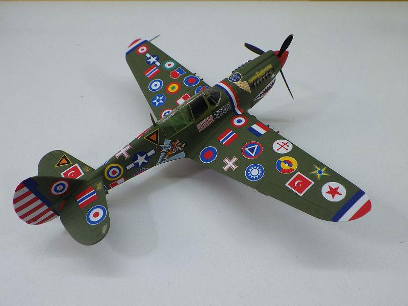 MBSTHH Ralf Reuter / P-40N Warhawk / Hasegawa / 1:72