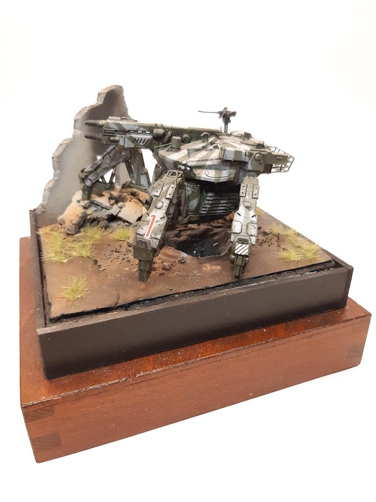 MBSTHH Marc Schimmler / 3D gedruckter Mechpanzer / 1:72