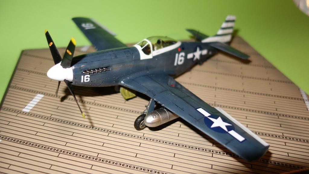 """MBG Jörg """"Eimerchen"""" / P-51D Sea-Mustang / Meng / 1:48"""