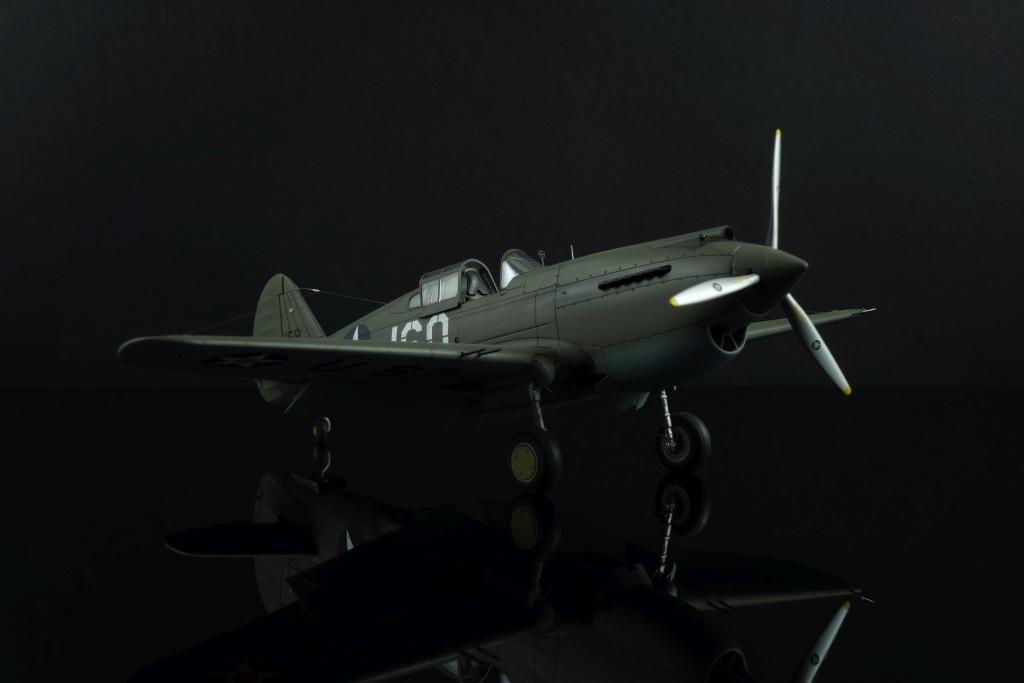 Steffen Recter MBF Siegen / P-40B Warhawk / Airfix / 1:48