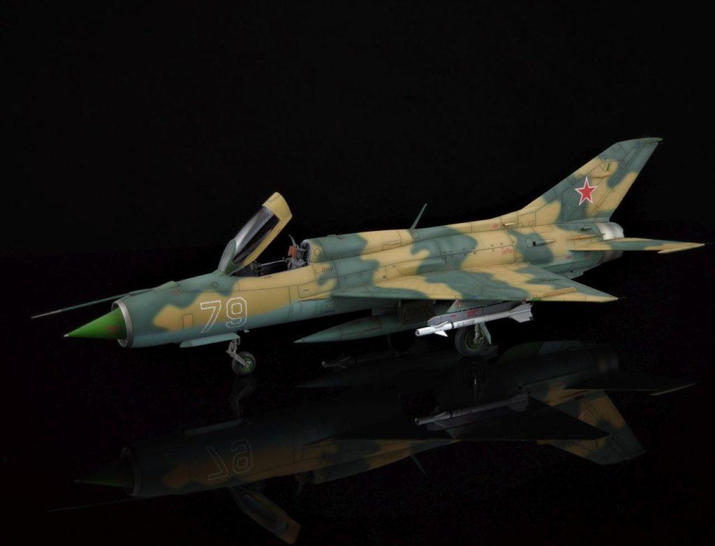 Steffen Recter MBF Siegen / MiG-21PF / Eduard / 1:48