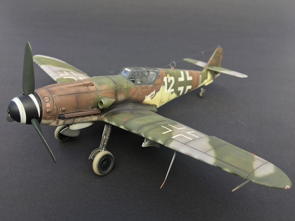 MBSTHH Andreas Fuchs / Messerschmitt Bf 109 K-4 / Hasegawa / 1:48