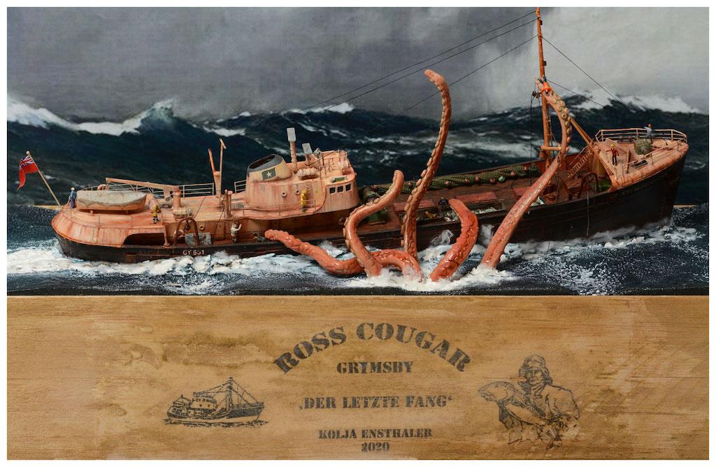 MBSTHH Kolja Ensthaler / ROSS COUGAR-Trawler / Revell / 1:142