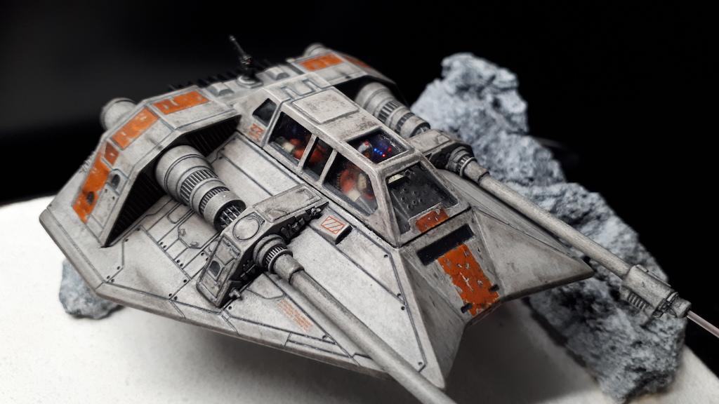 Amir Attia MBSTHH / Snowspeeder / Revell / 1:52 /Umbau mit Minidiorama