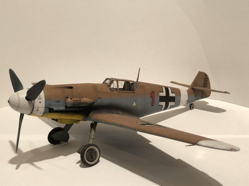 Nils Hayn / Me Bf 109 G-2 auf F-4 / 1:24