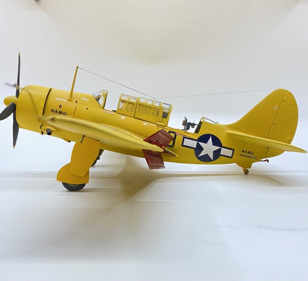 Hanno Kleinecke / Curtiss SB2Ch / 1:48 / Revell Monogram Scratch