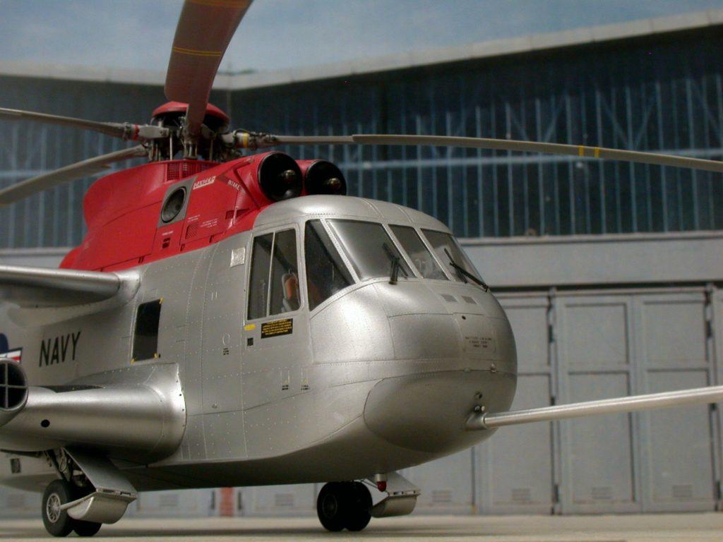 Bernhard Schrock / NH-3A Sikorskys Testbed / 1:48 scratch / 1