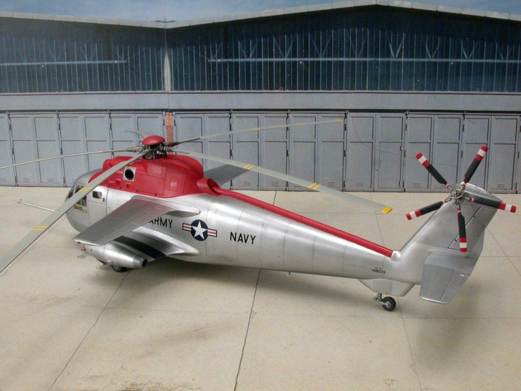 Bernhard Schrock / NH-3A Sikorskys Testbed / 1:48 scratch / 7