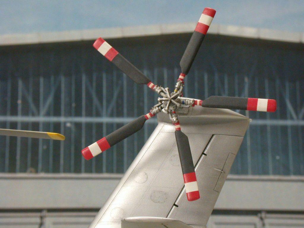 Bernhard Schrock / NH-3A Sikorskys Testbed / 1:48 scratch / 8