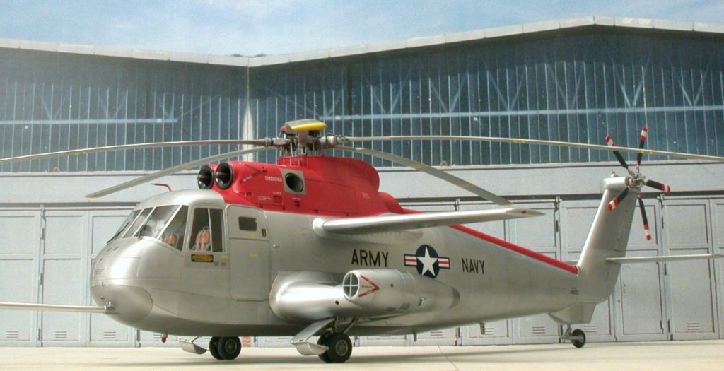 Bernhard Schrock / NH-3A Sikorskys Testbed / 1:48 scratch / 3