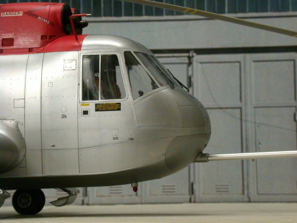 Bernhard Schrock / NH-3A Sikorskys Testbed / 1:48 scratch / 6