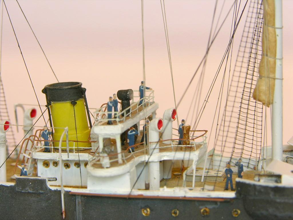 Andreas Martin / rus. Kanonenboot Koreits / 1:350 / Box 261